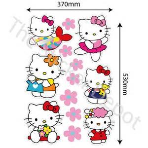 Wall Stickers Hello Kitty Pics Photos Hello Kitty Wall Sticker