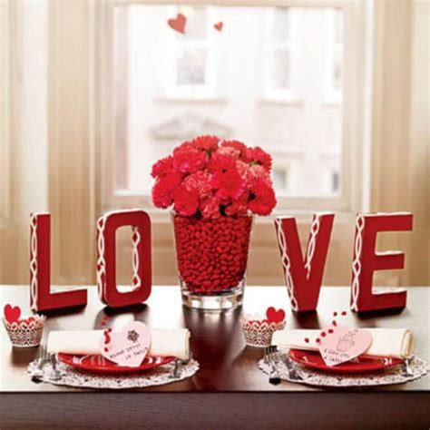 valentine home decor valentine home decor with romantic alphabet love and red