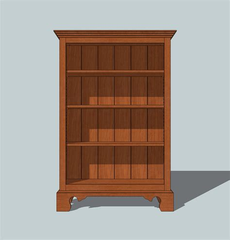 pdf bookcase plans free simple plans free