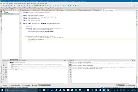 android layout xml if statement let s build a simple android app part 1 android authority