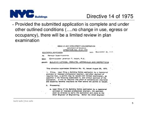 self certification notification letter ny new york city department of buildings filing rep course 101
