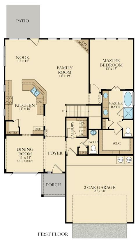 Terrazzo New Home Plan In Sendera Ranch Brookstone By Lennar New Home Floor Plans Dallas