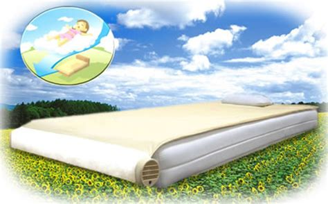 air conditioned bed air conditioned bed kuchofuku comes out with air