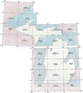Michigan Topographic Map by Michigan Topographic Index Maps Mi State Usgs Topo Quads