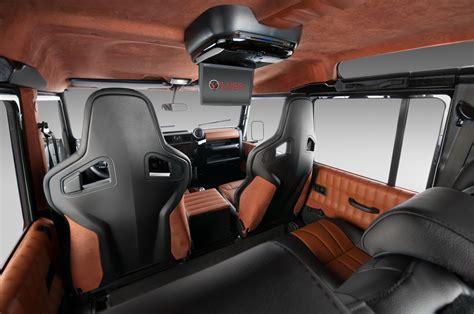 Handmade Interiors - a caccia con il lussuoso land rover defender autoportale net