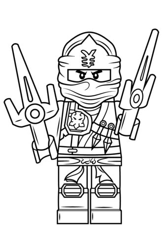blue ninja coloring pages lego ninjago jay zx coloring page free printable