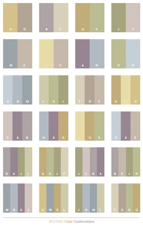 neutral colors neutral color schemes color combinations color palettes
