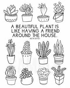 Indoor Plants That Help Clean Air Furthermore Succulent Plant Coloring  sketch template