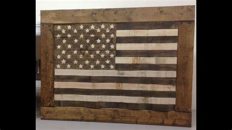 Pallet Wood Flag Plans