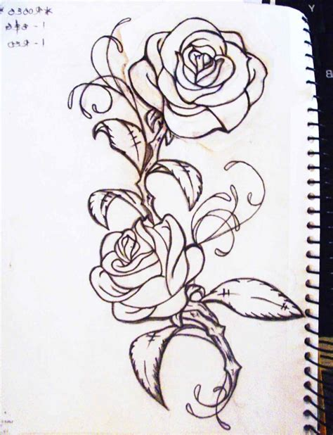 rose and vines tattoo vine ideas tattoos for pattern single ideas