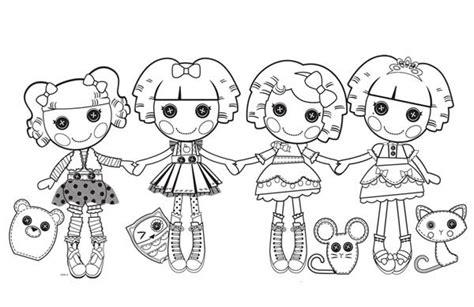 lalaloopsy coloring pages nick jr lalaloopsy lalaloopsy characters coloring page