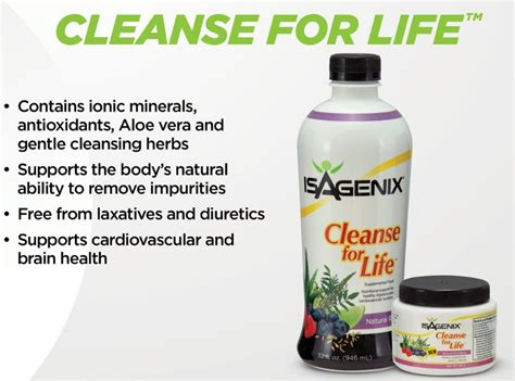 Purify Detox Nutrition Zone by Isagenix Nutritional Cleanse Review Nutrition Ftempo