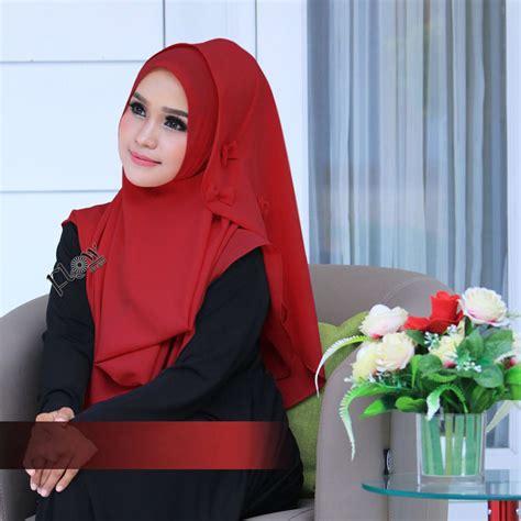 Jilbab Instant jual jilbab flowing instant ribboni murah bababeli