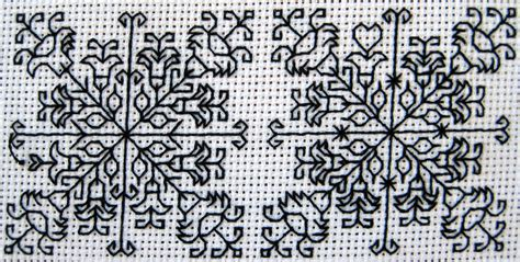 blackwork pattern blackwork backstitch