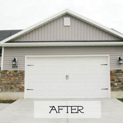 Garage Door Knob Garage Door Facelift Outdoor Projects Tip Junkie