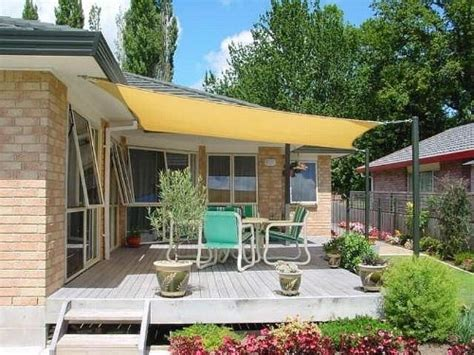 shade awnings for patios 13 cool shade sails for your backyard canopykingpin com