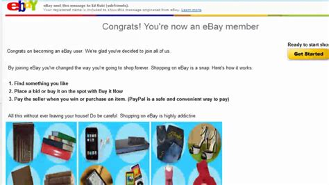ebay youtube how to register for an ebay sellers account youtube