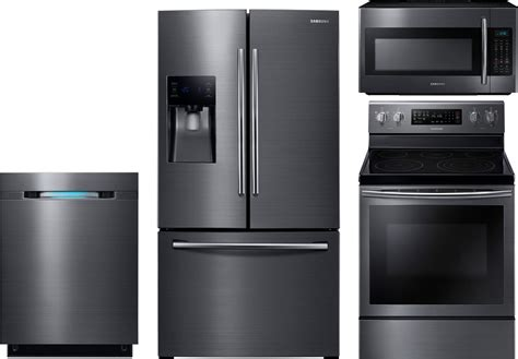 kitchen appliance review samsung 4 piece kitchen package with ne59j7630sg electric