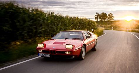 bmw supercar m1 driving the bmw m1 a singular supercar with a split