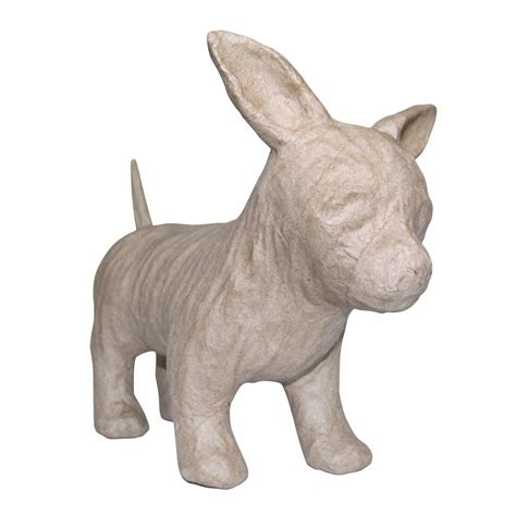 Papier Mache Animals For Decoupage - decopatch sa150 decoupage papier mache animal chihuahua ebay