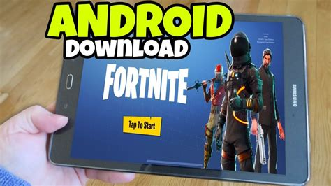 fortnite for tablet how to fortnite mobile on android phones and