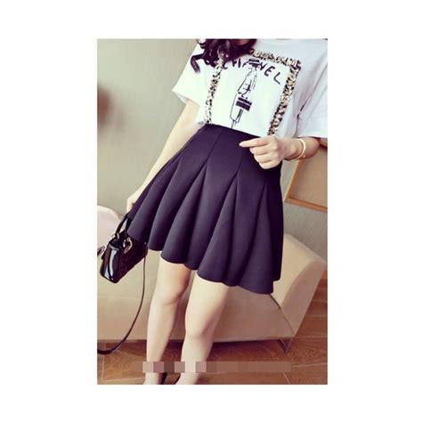 6353 Rok Wanita Rok Import Skirt Import Rok Mini Mini Skirt Wht rok wanita korea t1041 moro fashion