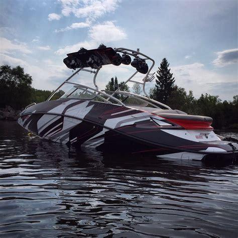 wake boat graphics seadoo challenger boat wrap yelp