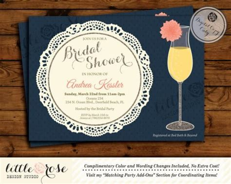 free printable bridal shower brunch invitations dahlia flower mimosa bridal shower invitation bridal