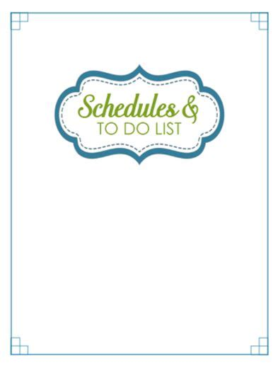 binder section dividers 31 days of home management binder printables day 31