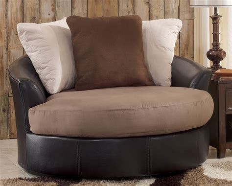 Large Swivel Chair Design Ideas Oversized Swivel Chair For Living Room In Contemporary Design Decolover Net