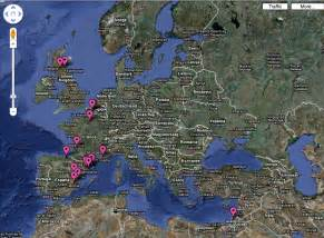 Google Maps Europe by Google Earth Europe Images