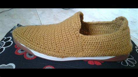zapatos de varon tejidos al crochet zapato mocas 237 n en crochet youtube