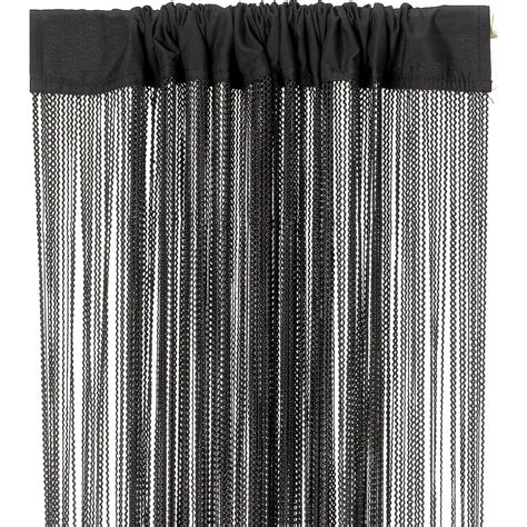 curtain fringe wave fringe curtain black dzd