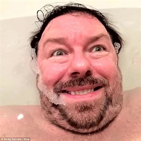 private parts bathtub ricky gervais posts video after gwyneth paltrow waxes lyrical about steam cleaning her
