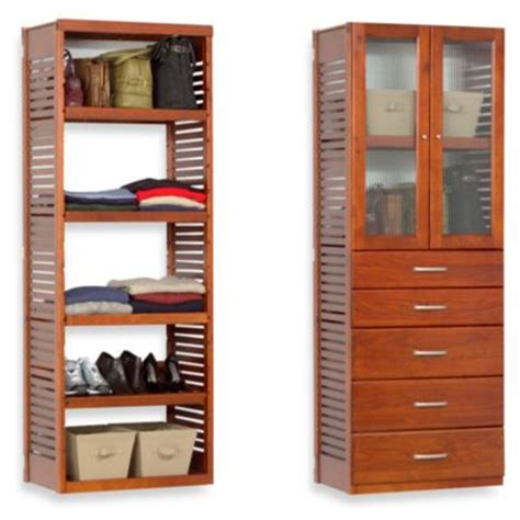 Home Storage Space Deluxe Closet Organizer Buy Deluxe Closet System From Bed Bath Beyond