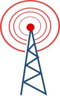radio tower radio tower clip art at clker com vector clip art online royalty free public domain