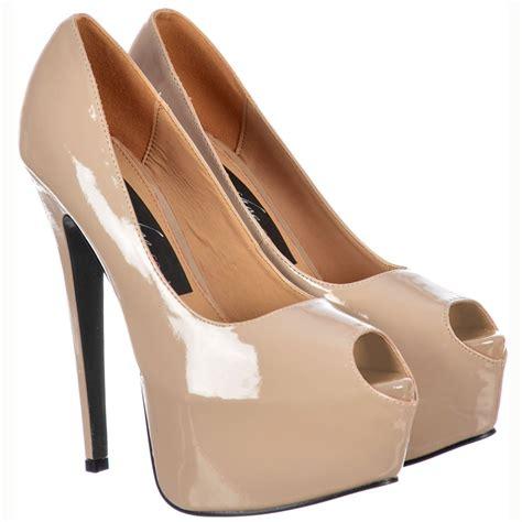 high heels platforms onlineshoe peep toe stiletto concealed platform high heel