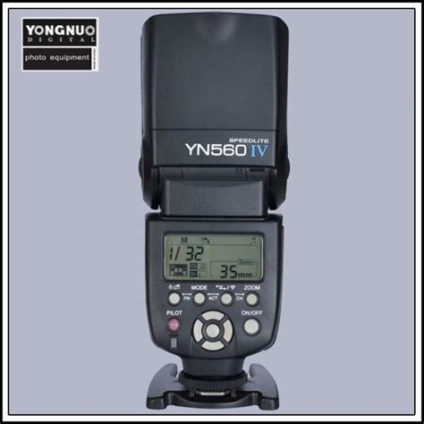 Flash Yongnuo yongnuo yn 560 iv flash speedlite for canon eos 5d 5d25d ii 1ds iv iii ii i