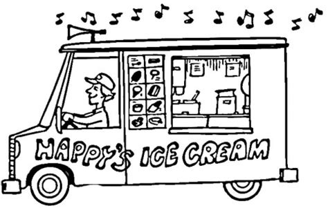 ice cream truck coloring page monster truck coloring pages ice cream truck coloring