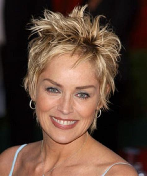 messy hairstyles for fatter faces 79 best sharon stone images on pinterest sharon stone