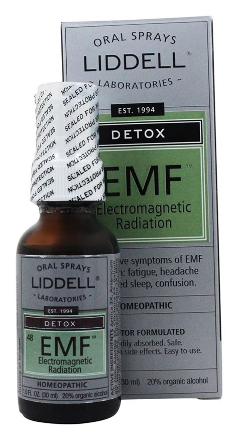 Electromagnetic Detox by Buy Liddell Laboratories Detox Emf Electromagnetic
