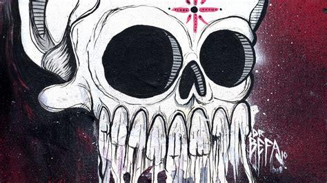 Wallpaper Graffiti Skull   graffiti skull wallpaper 154506