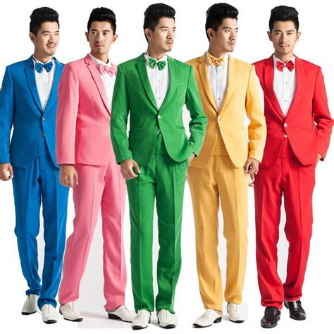 colorful suits 2017 coat pant designs colorful suits costume