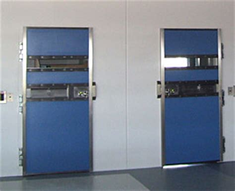 Cell Door by Cell Doors High Security Stainless Steel Custodial Door