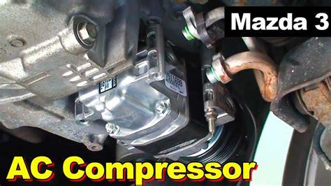 2009 mazda 3 ac compressor replacement