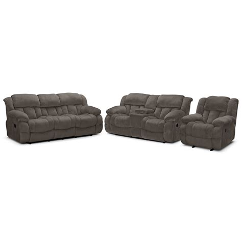 dual reclining loveseat with console microfiber microfiber dual power reclining sofa rs gold sofa