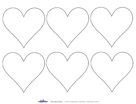 printable valentine heart shapes heart shapes to print and cut out previous printable