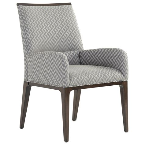 Custom Fabric Dining Chairs Macarthur Park Collina Upholstered Arm Chair In