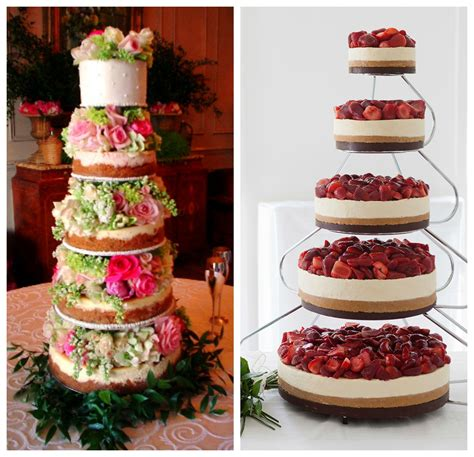 Cheesecake Wedding Cake by Wedding Cheesecakes Anyone The Vintage Styling Company