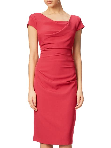 draped dresses online adrianna papell draped cowl neckline sheath dress online